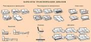 Механизмы диванов - описание и особенности. Какой выбрать механизм диванов