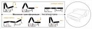 Механизм трансформации диванов тип раскладушка