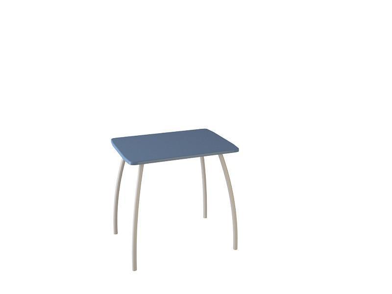 Cтол кухонный малый (синий). (Столешница МДФ)