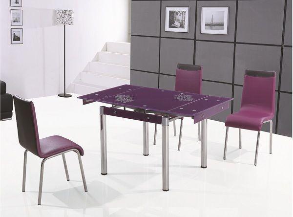 Раздвижной стол TB008-6 Бордо