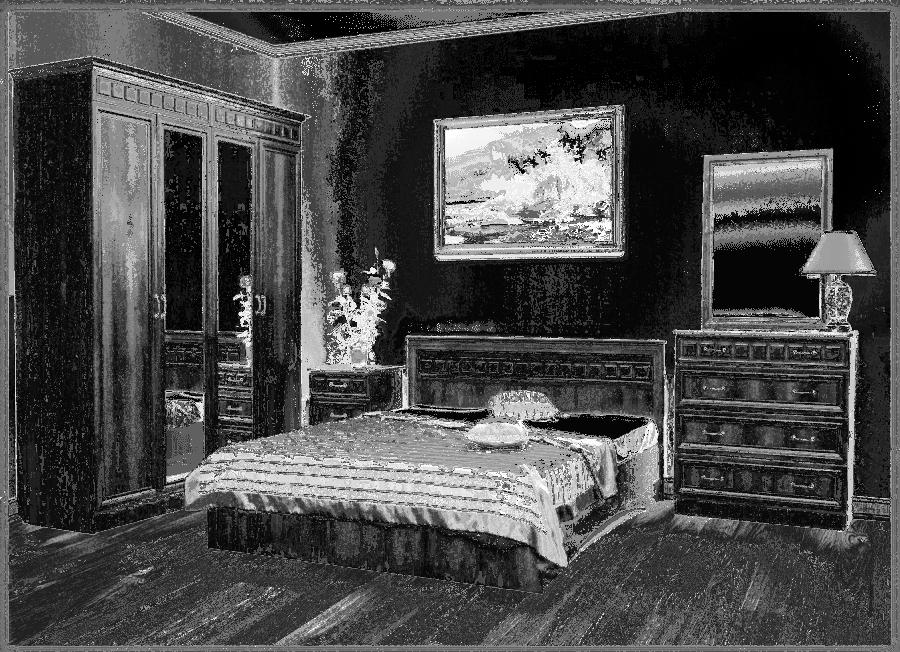 Спальня Чайка 06