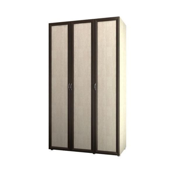 Шкаф 3-х дв. для одежды и белья 6.13 Береста