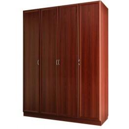 Шкаф для платья и белья 4-х дверный