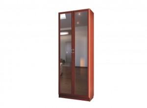 Шкаф для пл. 2-х дв. с зерк. Волхова