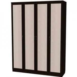 Шкаф для белья со штангой и полками