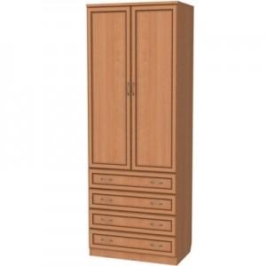 Шкаф для белья со штангой и ящиками