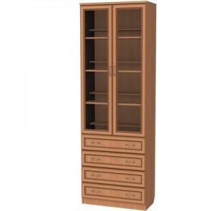 Шкаф для книг с ящиками