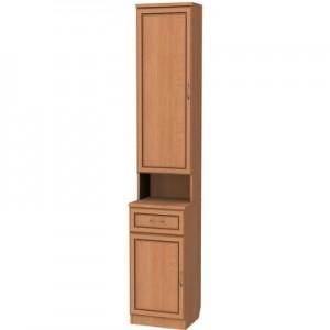 Шкаф для прихожей с полками и ящиком