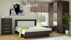Кровать 28M Серия 44 (старый дуб)