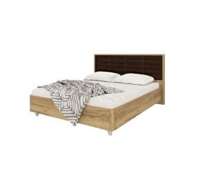 Кровать МК 52 (золотистый дуб) Изделие №233