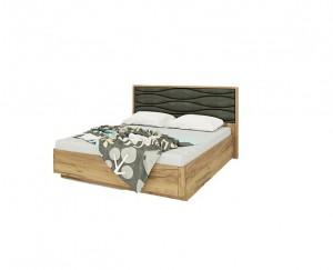 Кровать МК 52 (золотистый дуб) Изделие №234