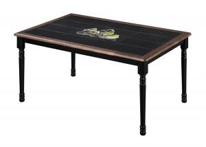 Стол обеденный с плиткой СТ 3760 венге