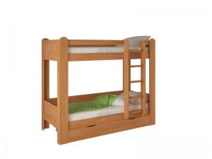 Кровать двухярусна №1 (ольха)