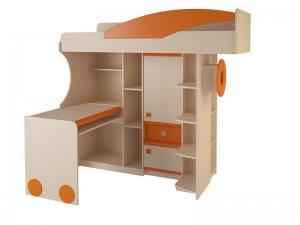Набор мебели 4.4.1 Л,П (оранжевый,синий,эвкалипт)