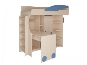 Набор мебели 4.4.1 Л,П (оранжевый,синий,эвкалипт) + Лестница №2
