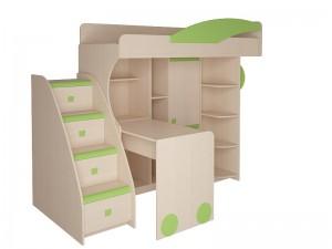 Набор мебели 4.4.1 Л,П (эвкалипт,синий,оранжевый) + Тумба с 4 ящиками