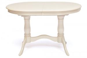 Стол обеденный белый раздвижной «Ева» (Eva)