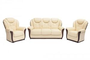 Кресло из натуральной кожи «Маэстрал» (Maestral)