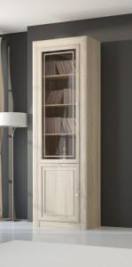 Шкаф-витрина для книг 2-х дверный 204  (МК 51)