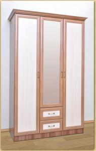 Шкаф 3-х дверный с 2 ящиками      погонаж