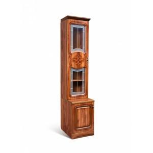 Шкаф для книг со стеклом Азалия 12 У