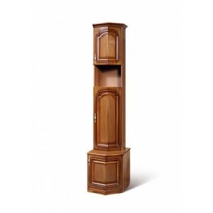 Шкаф для книг концевой Азалия 10 РУ