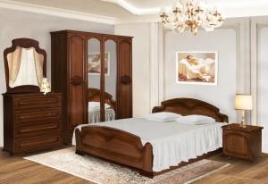 Спальня МДФ-1 донской орех