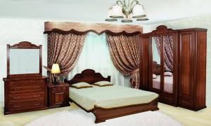 Спальня Виноградная лоза МДФ-2