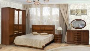 Спальня Улыбка МДФ-3