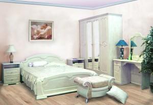 Спальня фасад ПВХ Жемчуг