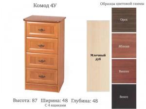 Комод-4У