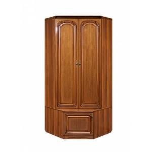 Шкаф для одежды уголовой с тумбой Азалия 10 РУ